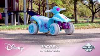 Дитина Тракс 6 вольт Дісней заморожених квад їздити на іграшковий автомобіль