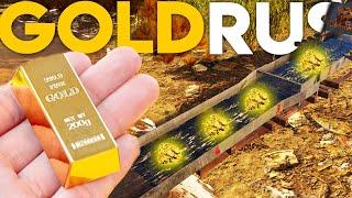 PRIMUL NOSTRU LINGOU DE AUR! | Gold Rush : The Game