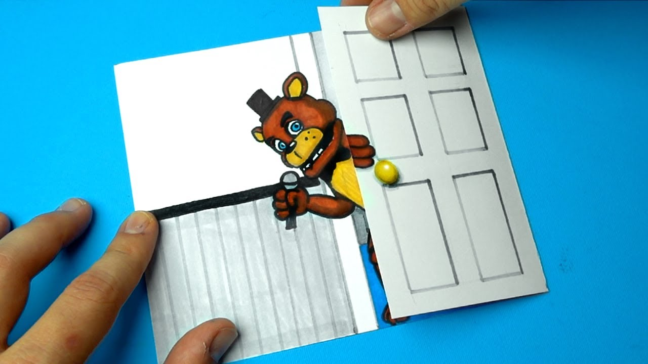 CREATE YOUR FNAF ANIMATRONICS - 5 COOL (Five Nights at Freddy's) DIY IDEA CHALLENGE | You cant hide