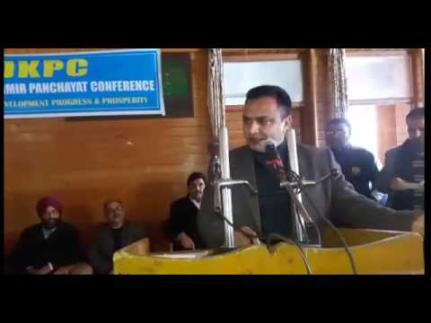 Sopore Panchayat Members Held One Day Convocation