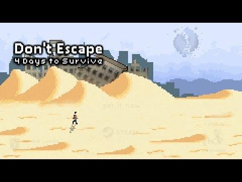 Dont Escape: 4 Days to Survive Trailer