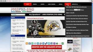 Pickfun.com - Hamilton Tiger-Cats Tickets, Sports Tickets, Discount Tickets