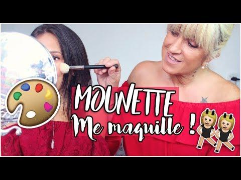 ♡ MOUNETTE ME MAQUILLE EN..MOUNETTE !!
