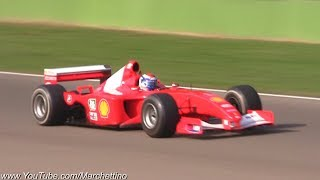Ferrari F1 Cars in Action - AMAZING V8, V10 & V12 Sounds!
