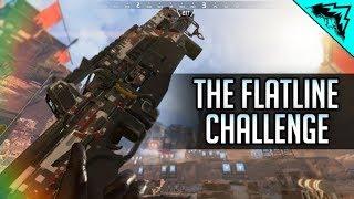 THE FLATLINE CHALLENGE!! - Apex Legends