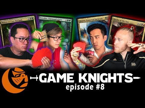Commander Anthology Gameplay w/ NFL Player Cassius Marsh l Game Knights #8 l Magic the Gathering