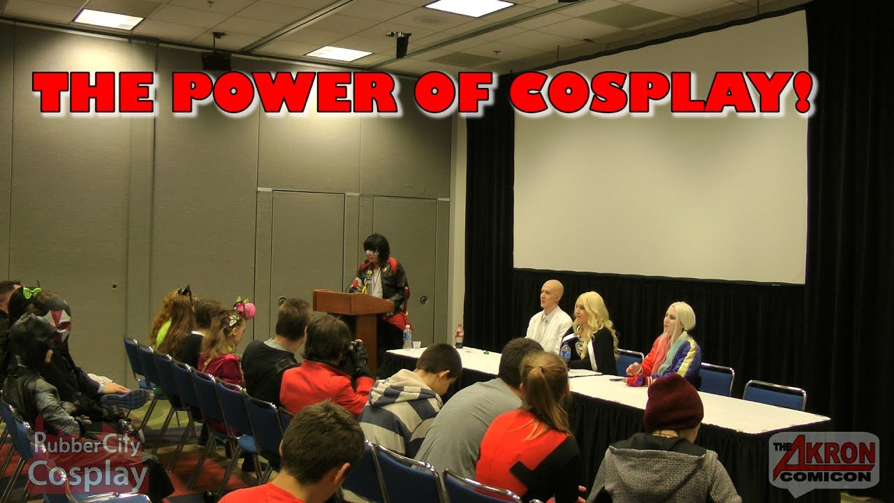 THE POWER OF COSPLAY! – Akron Comicon 2016