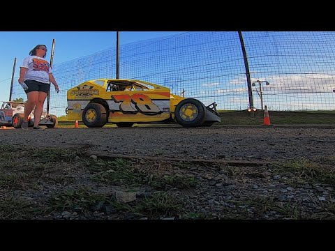 Briggs Danner On-Board 358 Modified at Grandview Speedway August 24, 2019!