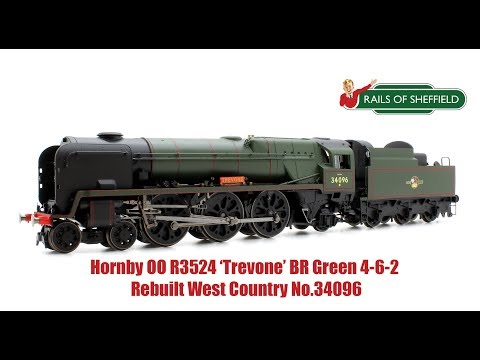 Hornby R3524 'Trevone' BR 4-6-2 Rebuilt West Country No.34096