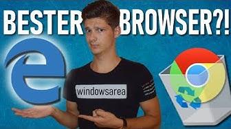 Microsoft Edge Beta ist der BESTE Browser 2019