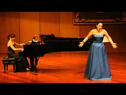 Claudia Deleanu, mezzosoprana - Live Concert Las Palmas 2009