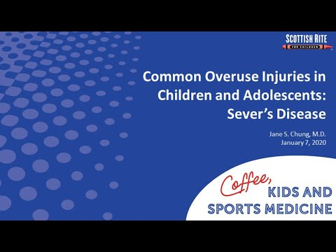 Coffee Kids and Sports Medicine Sever's Disease