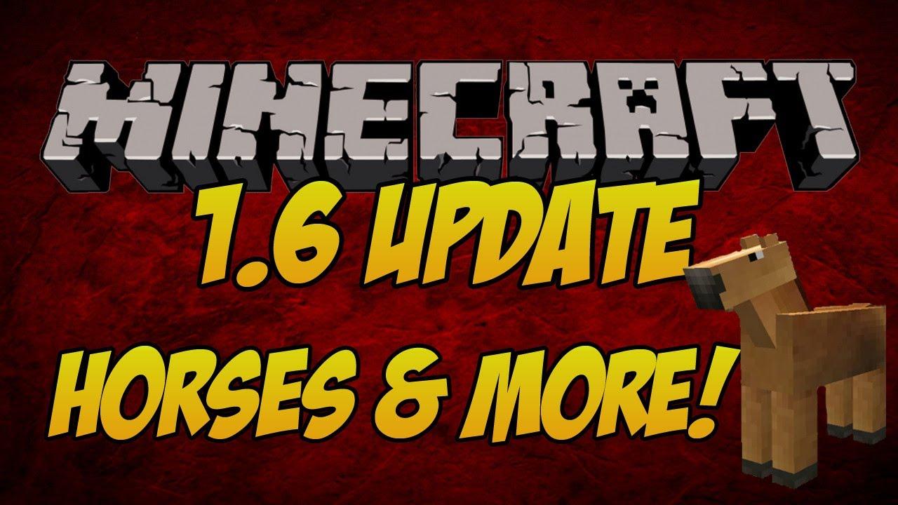 Minecraft 1.6 Update 2013 News | HORSES!