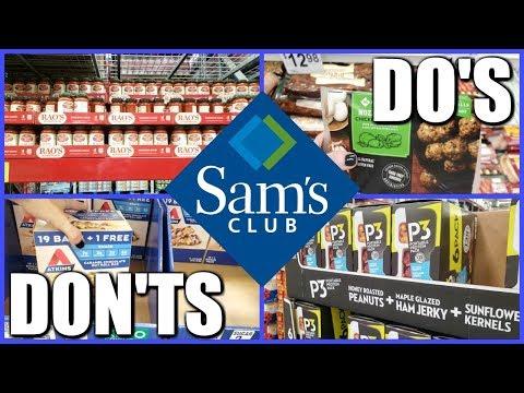 SAM'S CLUB KETO/HEALTHY WALK THROUGH!