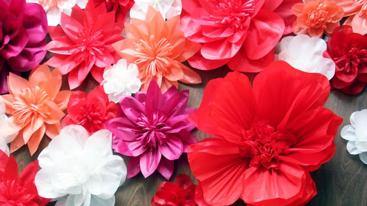 Как сделать цветы для фотозоны своими руками 977