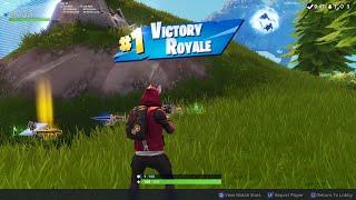 Fortnite Solo Victory