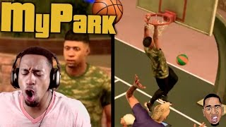 i m getting bullied nba 2k17 mypark gameplay ep 2