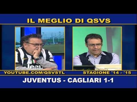 QSVS - I GOL DI JUVENTUS - CAGLIARI 1-1  - TELELOMBARDIA / TOP CALCIO 24