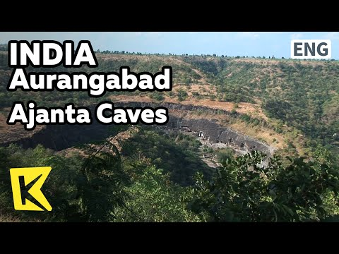 【K】India Travel-[인도 여행-오랑가바드]세계문화유산, 하나의 바위에 만들어진 '아잔타 석굴'/Ajanta Caves/Falls/Statue/Buddha