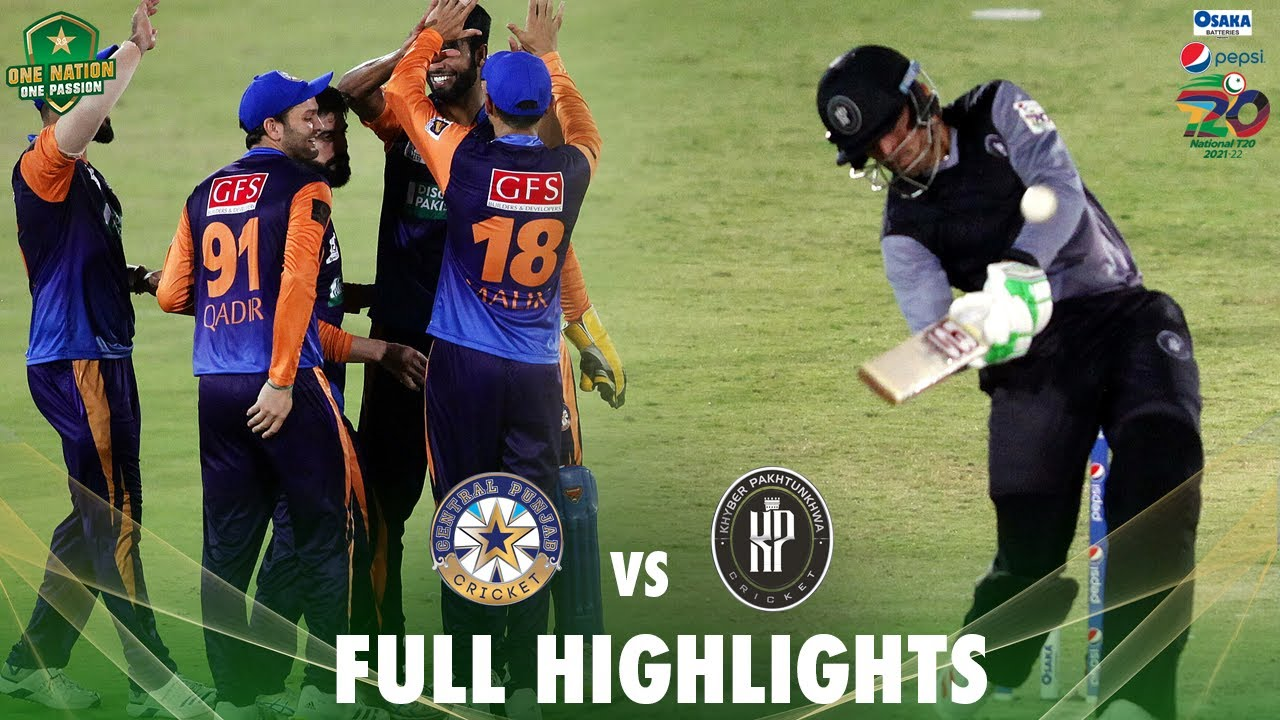 Download Full Highlights | Khyber Pakhtunkhwa vs Central Punjab | Match 8 | National T20 2021 | PCB | MH1T