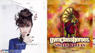 Demi Lovato vs Gym Class Heroes ft Adam Levine - Stereo Heart Attacks *Pitched