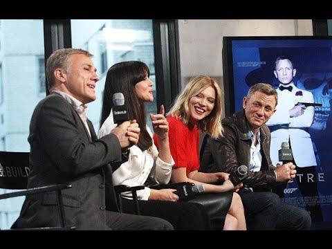 Daniel Craig, Christoph Waltz, Monica Bellucci and Léa Seydoux on Spectre