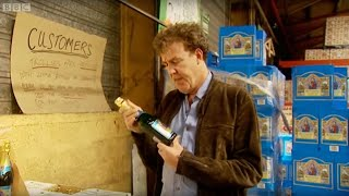 Jeremy's booze cruise - Top Gear - BBC(Armed with the spacious Citreon Berlingo, Jeremy heads to Calais to stock up on some cheap booze! Top Gear YouTube channel: ..., 2010-12-14T10:42:39.000Z)