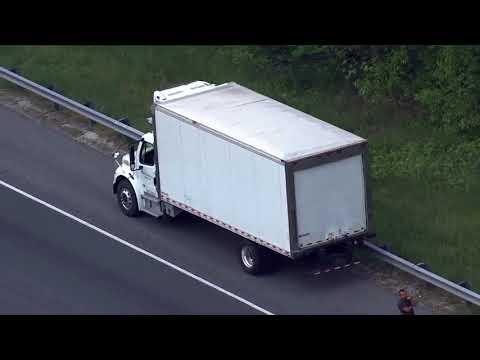Crash shuts down I-95 south in Howard County