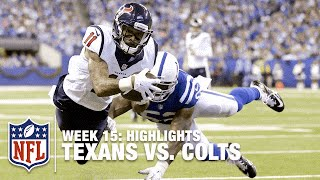 Texans vs. Colts | Week 15 Highlights | NFL