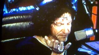 Howard Stern Goes off on The Electric Company & Hurricane Sandy&his Parents