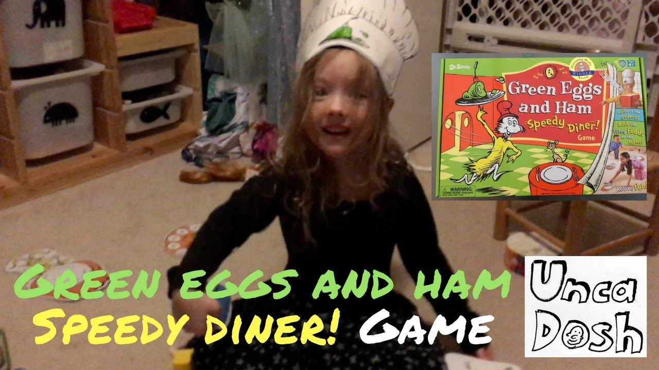 Dr. Seuss Green Eggs and Ham Speedy Diner Game COMPLETE ...