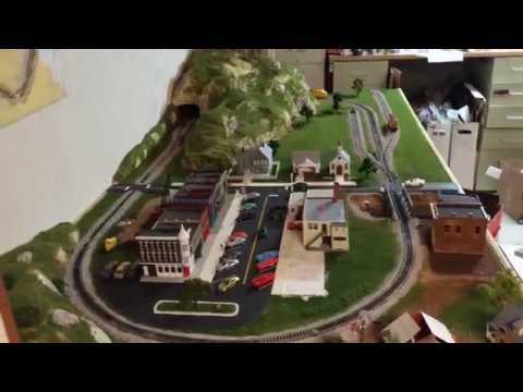 HO train layout   Woodland Scenics   Mountain Valley