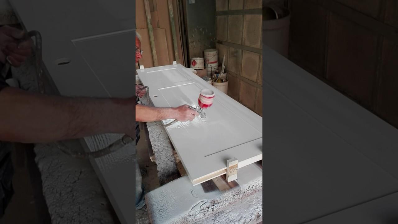 Come verniciare porta in legno youtube - Verniciare porte interne laminato ...