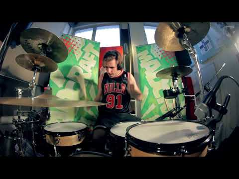"Drum Cover ""Blink-182 - Ghost On The Dancefloor"" by Otto from MadCraft"