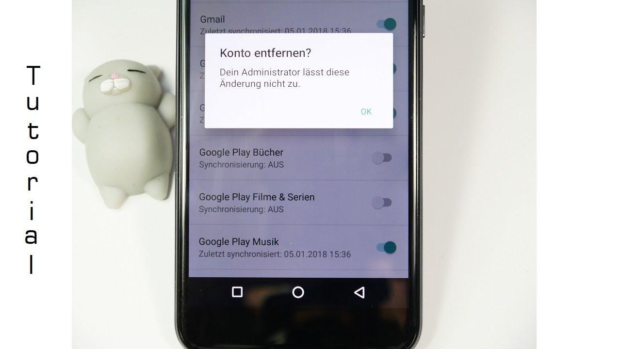 google auf handy löschen