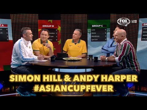 Asian Cup Fever! Simon Hill & Andy Harper