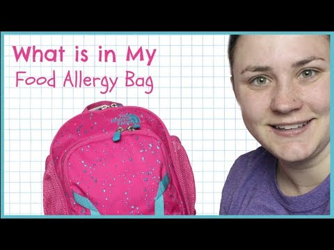 WHAT IS IN MY EVERYDAY NUT & EGG ALLERGY BAG AUVI Q AUTO INJECTOR | Allie Young