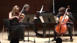 Swiss Piano Trio: Mendelssohn piano trio No. 2 op 66 Allegro energico e con fuoco
