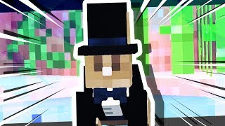 I CAUGHT THE MINECRAFT TUXEDO RABBIT!!!