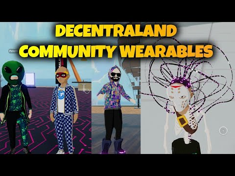 Decentraland Launches Community Wearables. Time To Get Wild!