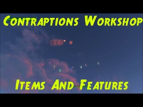 Fallout 4 Contraptions Workshop DLC All New Features and Items Showcase |