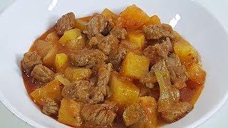 Etli Patates Yemeği Tarifi ve Malzemeleri