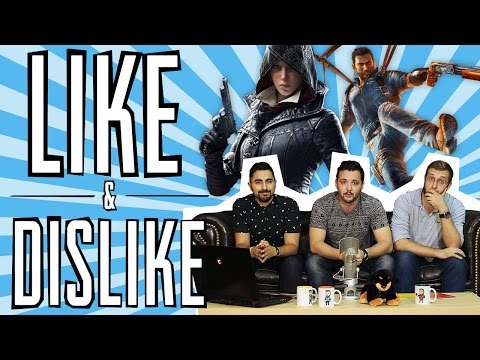 LIKE & DISLIKE: AC Syndicate, Black Ops III, Just Cause 3, Street Fighter V...