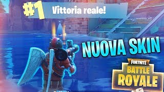 VITTORIA REALE with a NUOVA SKIN! Fortnite Battle Royale ITA!
