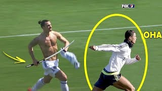 Futbolcular Neden Zlatan İbrahimovic'ten Korkuyor ? İşte Gerçek Nedenleri