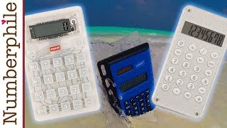 Calculator Unboxing #6 (Staples collection) - Numberphile