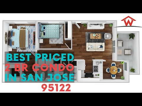 For Sale: Best Priced 2BR Condo in San Jose 95122