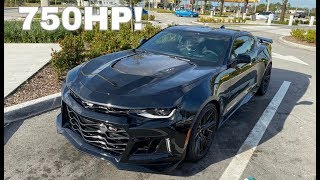 Flying Cross Country & Buying a 2018 Camaro ZL1