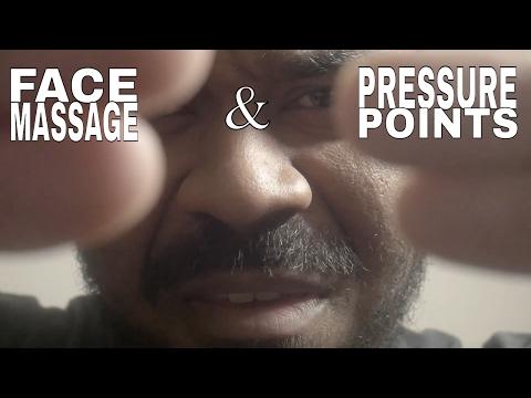 [ASMR] Face Massage Roleplay using PRESSURE POINTS | Massage Therapist | Scalp Massage | Pen Writing
