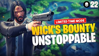 Ninja Is Unstoppable in NEW LTM Wick's Bounty 22 Elims